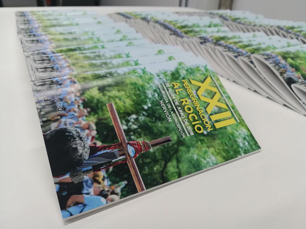 Impresión Revista Grapada a Todo Color