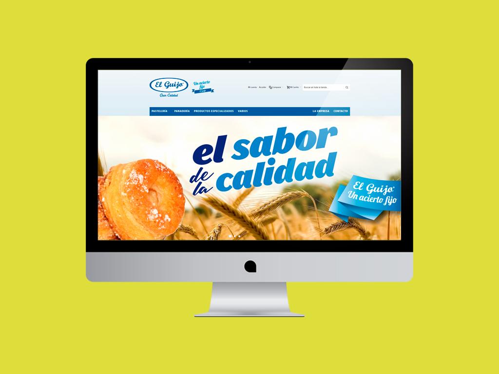 Página Web Dulces el Guijo