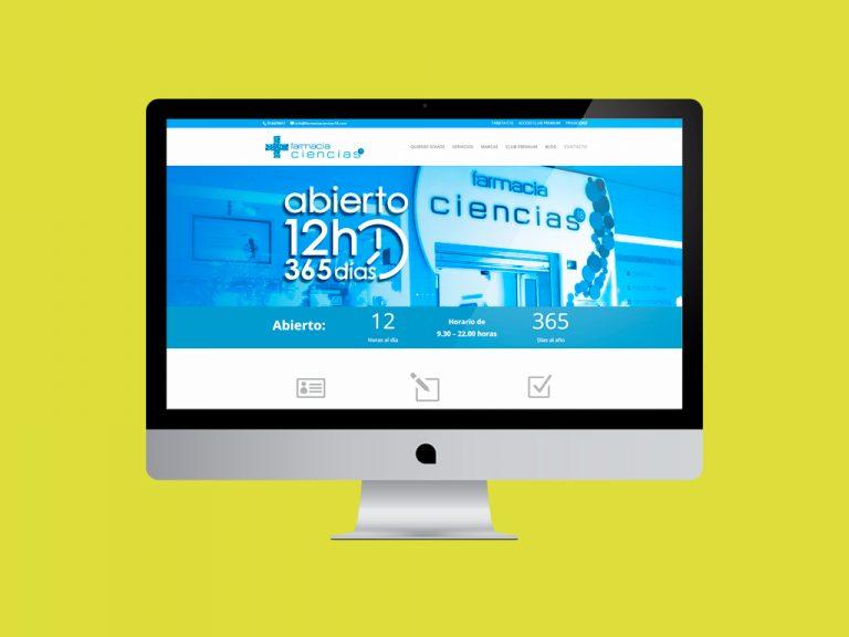 Creación Página Web Farmacia