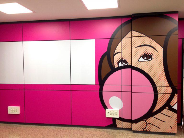 Impresión Vinilo Diseño Original Decorativo Interior