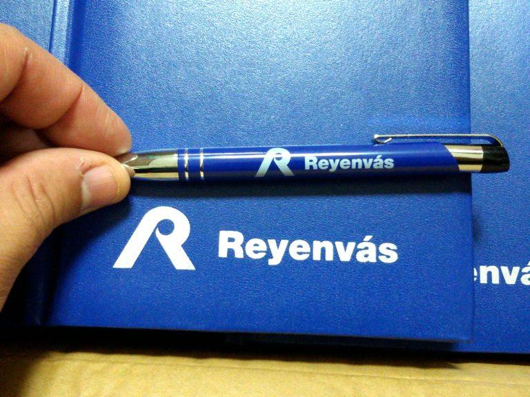 Bolígrafos + Agenda Reyenvas