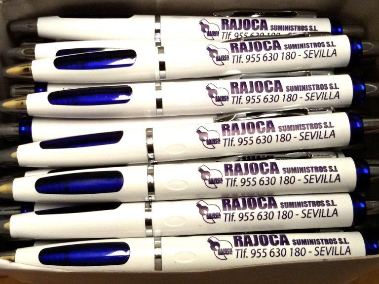 Bolígrafos Rajoca