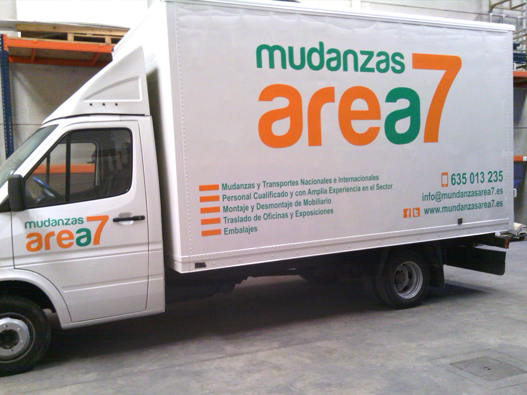 Rotulación Publicitaria Camión Empresa