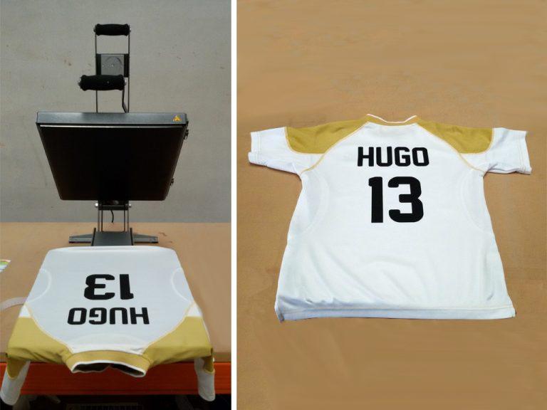 Rotulación Textil en Camisetas de Fútbol
