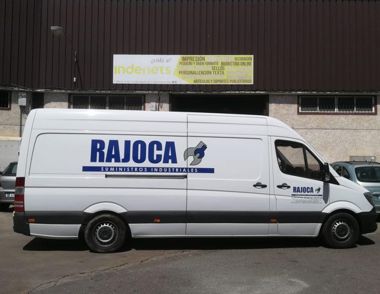 Rotulación Furgoneta Rajoca