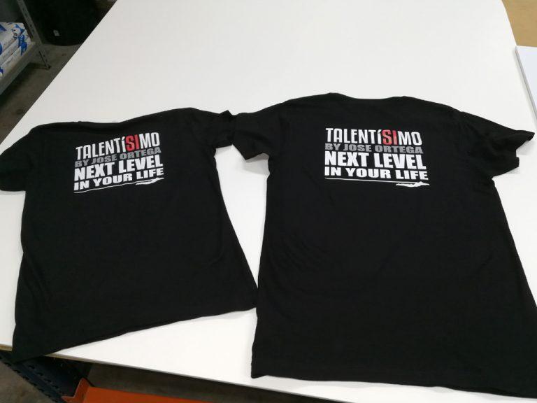 Camisetas Talentísimo