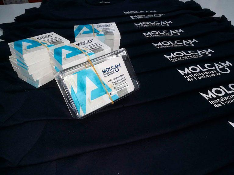 Personalización textil y Tarjeta de Visita Empresa