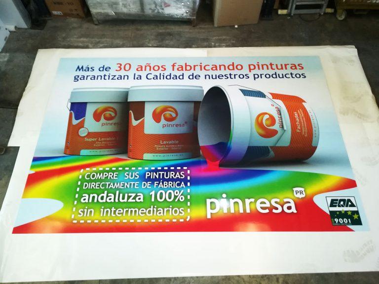 Impresión Todo Color Cartel Publicitario